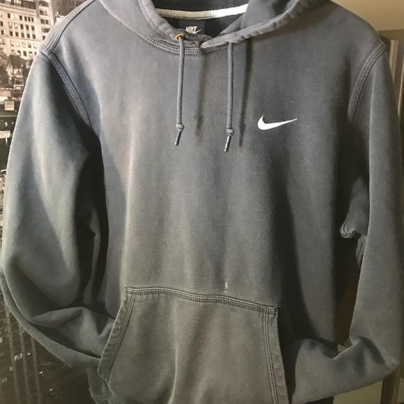 Faded Distressed Nike Hoodie